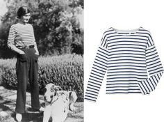 Breton striped shirt - made famous by as Coco Chanel and Pablo Picasso