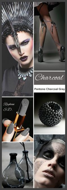 '' Charcoal Grey - Pantone'' by Reyhan S.D.