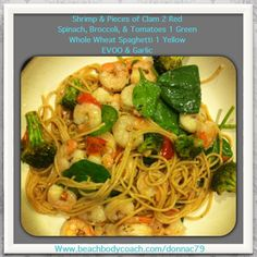 21 Day Fix Dinner during Lent. Delicious! :)