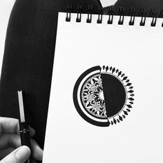 molou_art Mandala Art, Insta Art, Zentangle, Doodles, My Arts, Drawings, Artwork, Design, Work Of Art