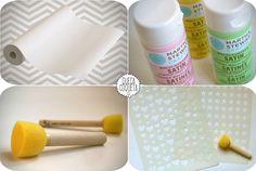 DIY. Papel de regalo handmade