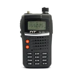 """Handheld VHF & 2 Meter Amateur Radio Tranceiver 5watt, TYT TH-F5 Ham Radio by TYT. $71.99. VHF &  2 meter Handheld 5W transceiver, Fre Range of 136-174Mhz . Direct Keypad Freq & function entry. 128 AlphaNumeric memory channels, Scan modes,  PL & DPL (ctcss/dcs), selectable step rates & repeater shift. Has regular Amateur SMA antenna jack, & a """"Kenwood Style"""" 2-pin speakermike jack, for compatibility w/ many aftermarket accessories. Optional PC programming cable available...."""