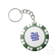 Photo Spearmint  Stripe Candy Key Chain   •   This design is available on t-shirts, hats, mugs, buttons, key chains and much more   •   Please check out our others designs at: www.zazzle.com/ZuzusFunHouse*