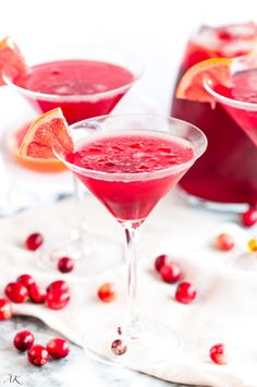"""Cranberry Daiquiris 