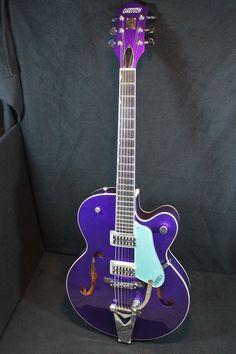 Gretch Brian Setzer Hot Rod Purple W/ Original Case #Gretch