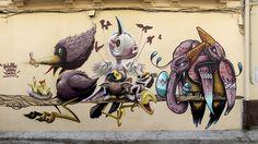 Los pájaros de Lagunillas.