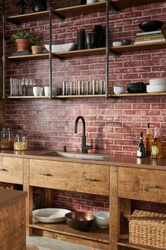 The slim neck and unrivaled style of the Moen STō faucet completes the picture-perfect look of your dream home. Most Popular Kitchen Design Ideas on 2018 & How to Remodeling Küchen Design, House Design, Interior Design, Design Ideas, Wall Design, Chair Design, Modern Design, Industrial House, Industrial Design