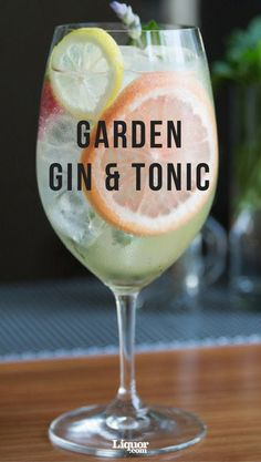 Want to step up your classic Gin & Tonic? This version takes the easy favorite a few steps further and tastes all the difference. This delightful sipper is summer in a glass. Skip the Beefeater and use a good gin. Gin Tonic, Tonic Cocktails, Summer Cocktails, Cocktail Drinks, Cocktail Recipes, Alcoholic Drinks, Beverages, Easy Cocktails, Classic Gin Cocktails