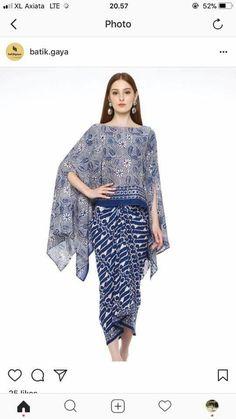 Setelan batik Batik Fashion, Abaya Fashion, Ethnic Fashion, Modest Fashion, African Fashion, Kebaya Lace, Kebaya Dress, Batik Kebaya, Batik Blazer