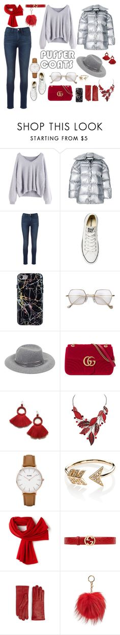 """Senza titolo #6889"" by waikiki24 ❤ liked on Polyvore featuring Off-White, Converse, rag & bone, Gucci, CLUSE, EF Collection, Lacoste, MCM and MICHAEL Michael Kors"