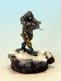 Tom Schadle Miniatures: Infinity: Ariadna SAS