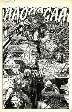 barry windsor smith original art | Barry Windsor-Smith : Wolverine-Weapon X.