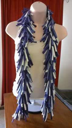 Upcycled t shirt scarf www.facebook.com/bellwethers