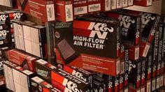 Filtros de aire K&N: diseñados para aumentar potencia, facil de lavar y reusar é incluyen garantía limitada hasta un millón de millas.