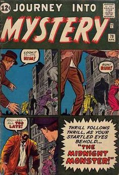 Journey Into Mystery # 79 by Jack Kirby & Dick Ayers