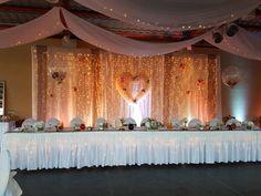 #wedding #vintagewedding #decor #vintage #hochzeit #esküvő #weddinglights #lightcurtain Wedding Decorations, Curtains, Lights, Home Decor, Blinds, Decoration Home, Room Decor, Wedding Decor, Lighting