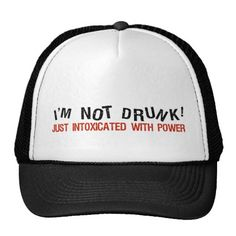INTOXICATED hat - choose color