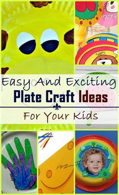 10 Easy And Exciting Plate Craft Ideas For Your Kids