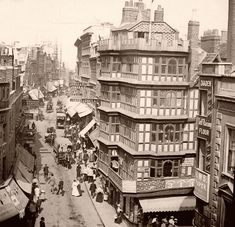 Wine Street 1890s. City Of Bristol, Bristol Uk, Mystery Of History, Local History, Pirate History, Bristol England, Hill Station, Vintage London, The Real World