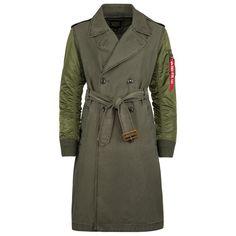 Alpha Industries Mackinaw Trench Coat