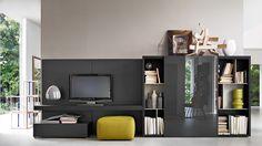 Pass Ed.2012 Bookshelves And Multimedia Molteni & C
