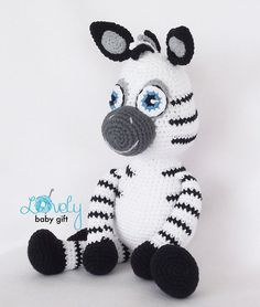 Amigurumi Pattern Zebra Animal Crochet Pattern CP-149
