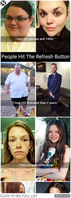 People Who Hit Refresh Button On Their Lives #success #fitness #balance #diet #achievements #obesity