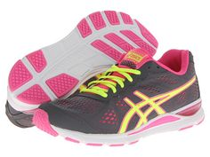 ASICS GEL-Storm™ 2 Storm/Flash Yellow/Pink - 6pm.com