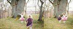 Säsongens första familjefotografering utomhus i Sollentuna »