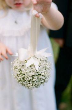 Flower Girl Pomander. | Southern Weddings