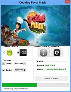 Cooking Fever Hack Tool Free Download