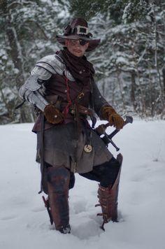 Witch hunter larp costume by ~Davio3d on deviantART