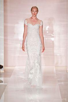 d8b28a11c9 reem acra - 2014 Reem Acra Wedding Dress