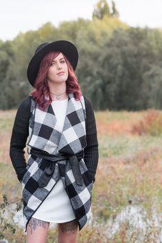 Plaid Winter Coat from NZ fashion Boutique Lonely Bones. http://www.lonelybones.boutique/product/dangerous-game-coat/