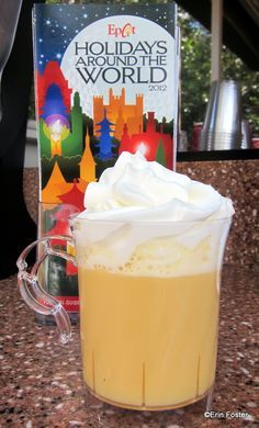 William's Punch at Germany Holiday Kiosk in Disney World!