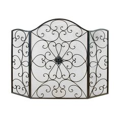 Found it at Wayfair - 3 Panel Metal Fireplace Screen                                                                                                                                                                                 Más