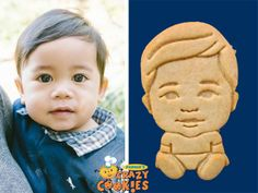 First Birthday - 1st - Party - Baby - Custom Cookies - Favors - Edible Gifts