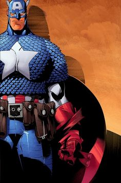Captain America by Chris Bachalo