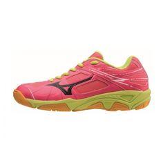 Mizuno Lightning Star Z Junior röplabdás cipő gyermek pink,sárga Lightning, Running Shoes, Sneakers, Fashion, Runing Shoes, Tennis, Moda, Fashion Styles, Lightning Storms