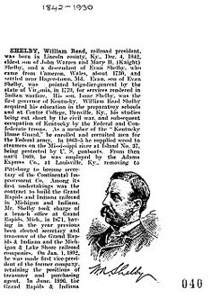 William Read Shelby, Biography