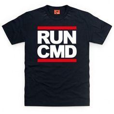 Run CMD T Shirt
