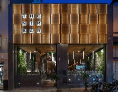 The Nim Bar by Hitzig Militello Arquitectos, Buenos Aires – Argentina Cafe Design, Store Design, Interior Design, Traditional Wallpaper, Hospitality Design, Commercial Design, Wall Wallpaper, Retail Design, Restaurant Design
