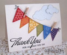 Image result for handmade cards with triangles on pinterest
