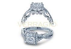 INSIGNIA-7070P engagement ring from The Insignia Collection of diamond engagement rings by Verragio