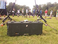 Live from Zagreb, Croatia for archery field world championship!  Picture by Jerome Bidault - France