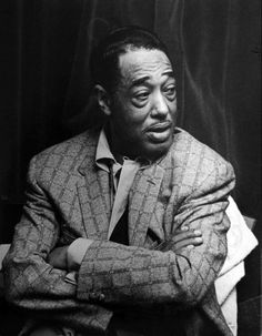 music is my mistress and she plays second fiddle to no one ― duke ellington | 1958 | foto: roger mayne