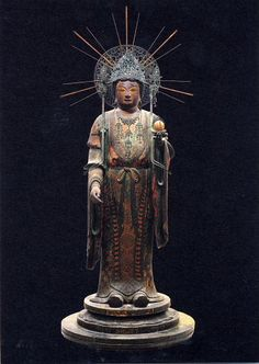 Japanese National Treasure, Statue of Kisshoten 吉祥天像(法隆寺)
