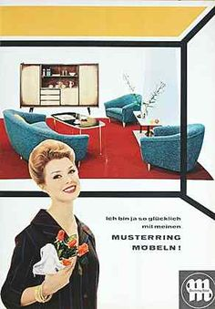 m bel 50er jahre 1954 der greis ist hei pinterest retro. Black Bedroom Furniture Sets. Home Design Ideas