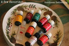 Our daily favorites, young living essential oils!