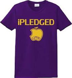 PLEDGED T Shirt Omega Psi Phi T-shirt